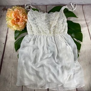 In Bloom by Jonquil White Chemise